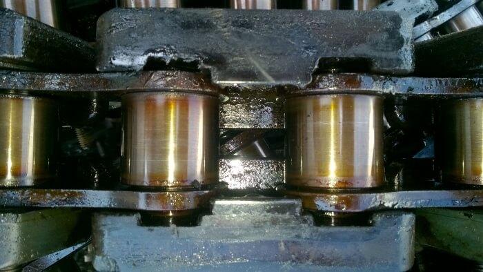 Õlitatud ketilülid (kilevenitusmasinas)