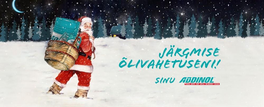 Addinoli jõulukaart